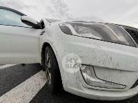 В ДТП на трассе М-2 в Туле у внедорожника оторвало колесо, Фото: 14