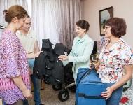 Вручение виброжилета инвалиду, Фото: 15