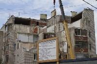 Алексей Дюмин проинспектировал работы по восстановлению дома в Ясногорске, Фото: 16