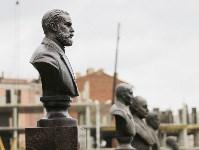На Аллее Славы поставили бюст основателя Тульского патронного завода, Фото: 13