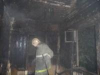 Пожар в Суворове ночью 28 сентября, Фото: 1