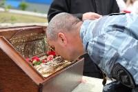 Сотрудники ОМОН поклонились мощам святого великомученика Георгия Победоносца, Фото: 1