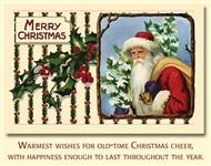 Старинные рождественские открытки, Фото: 9