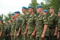 Дмитрий Глушенков простился со знаменем дивизии, Фото: 2