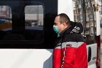 Как в Туле дезинфицируют маршрутки и автобусы, Фото: 2