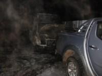 Ночные поджоги автомобилей в Туле и в Щекино. 24.10.2014, Фото: 1