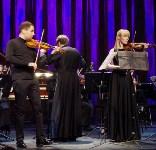 Юная тульская скрипачка получила подарок из рук Дмитрия Когана, Фото: 1