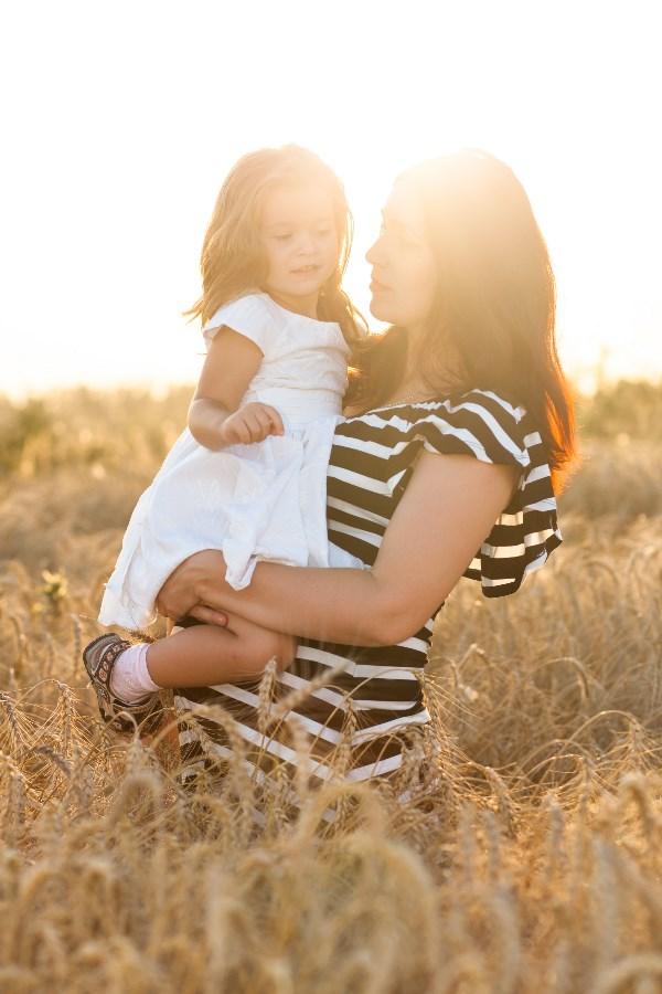 Виктория (2 годика) с мамой