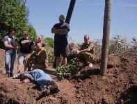 Останки бойцов в деревне Криволучье, Фото: 52