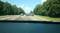 Авария на развилке старой московской дороги и М-2, Фото: 1