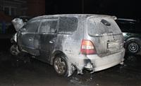 В Пролетарском районе Тулы сожгли иномарку, Фото: 6