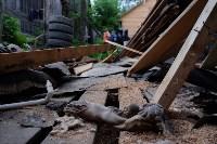 В Плеханово начали сносить дома в цыганском таборе, Фото: 36