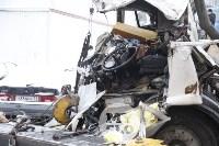 Стрела автокрана раздавила водителя, Фото: 12