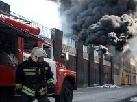 Загорелся недостроенный ТЦ на Красноармейском проспекте, Фото: 38