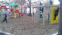 В Тульской области продолжают устанавливать детские площадки, Фото: 1