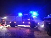 Крупный пожар в Ленинском: загорелся склад на заводе битумных изделий, Фото: 1