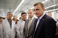 В Богородицке Алексей Дюмин посетил ООО «Завод №423», Фото: 11