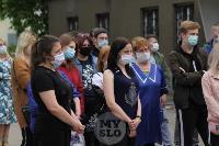 В Туле сотрудники МЧС эвакуировали госпитали госпиталь для больных коронавирусом, Фото: 4