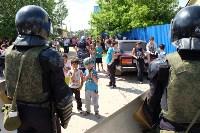 В Плеханово начали сносить дома в цыганском таборе, Фото: 128