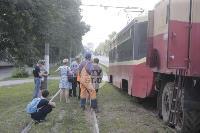 Авария с трамваем на ул. Металлургов, Фото: 7