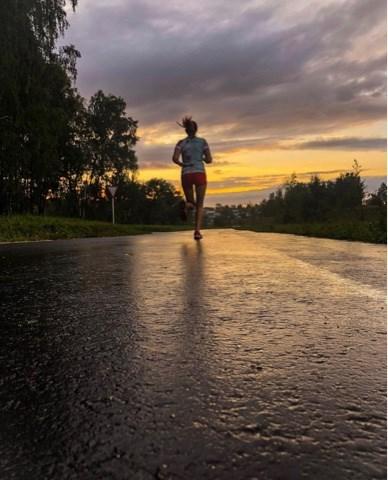 Вечерняя пробежка