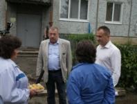 Восстановление домов в селе Воскресенское после урагана. 2.07.2014, Фото: 7