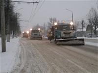 Расчистка тульских улиц коммунальными службами, Фото: 2