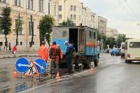 Проспект Ленина затопило, Фото: 8