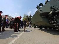 День Тульской дивизии ВДВ: на площади Ленина приземлились парашютисты, Фото: 109