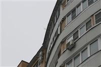 Нечищеная крыша дома №116 по пр-ту Ленина, Фото: 5
