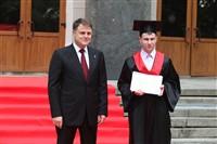 Владимир Груздев поздравил выпускников магистратуры ТулГУ, Фото: 23