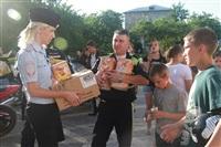 Тульские байкеры и сотрудники ГИБДД навестили детей из обидимской школы-интерната, Фото: 2