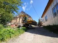 В Плеханово вновь сносят незаконные дома цыган, Фото: 22