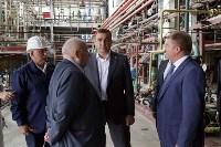 Алексей Дюмин посетил Ефремовский завод синтетического каучука, Фото: 12