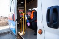 Как в Туле дезинфицируют маршрутки и автобусы, Фото: 23
