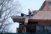 В Туле начали ломать здание бывшего кинотеатра «Салют», Фото: 6