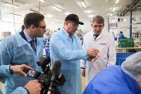 Дмитрий Миляев посетил предприятие по производству замороженной рыбы и полуфабрикатов, Фото: 8
