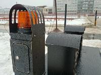 На Казанской набережной впервые в Туле поставили подземную мусорную площадку, Фото: 2