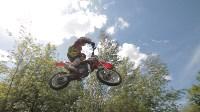 Юные мотоциклисты соревновались в мотокроссе в Новомосковске, Фото: 123