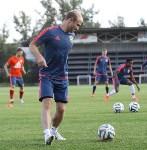 Как футболисты «Арсенала» готовятся к «Тосно», Фото: 10