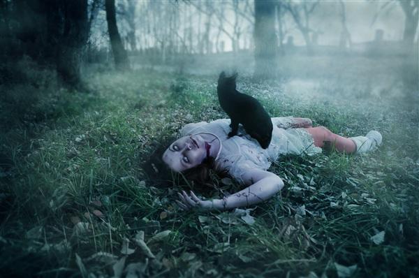 Зомби апокалипсис близок... фотосессия к Хеллоуину 2013