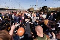 Открытие монумента и бронепоезда на Московском вокзале. 8 мая 2015 года, Фото: 86