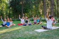 В Центральном парке прошла тренировка по пилатесу, Фото: 1