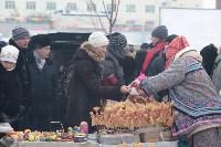 Как туляки провожали зиму на набережной Упы, Фото: 90
