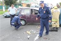 ДТП в Басова с участием четырёх автомобилей. 3 сентября 2013, Фото: 19