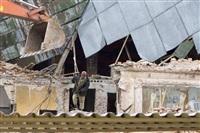 """Снос кинотеатра """"Космос"""". Тула. 14 апреля 2014 год, Фото: 5"""