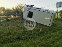В Тульской области фура влетела в автобус: перекрыта трасса М-2, Фото: 14