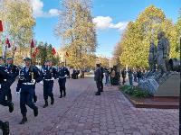 В Туле открыли памятник экипажу танка Т-34, Фото: 66