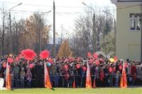 Первый этап эстафеты олимпийского огня: Пролетарский район, Фото: 3