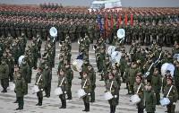 Репетиция Парада Победы в подмосковном Алабино, Фото: 49